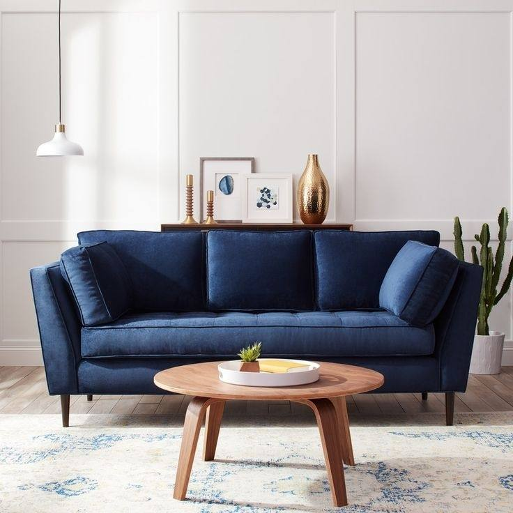 Dark Blue Sofa Decorating Ideas