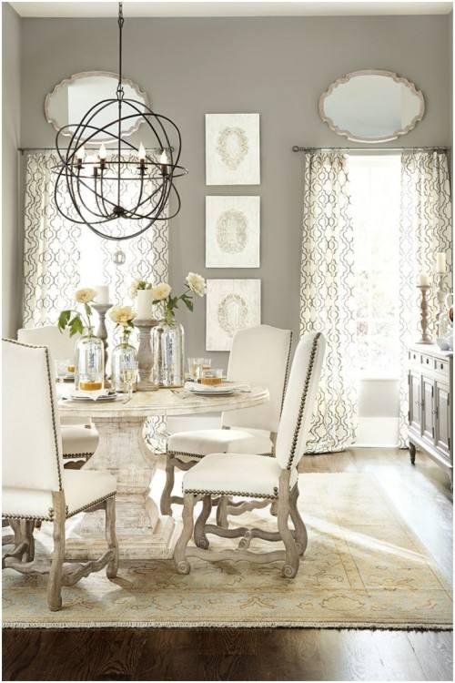How to choose a chandelier for a dining table