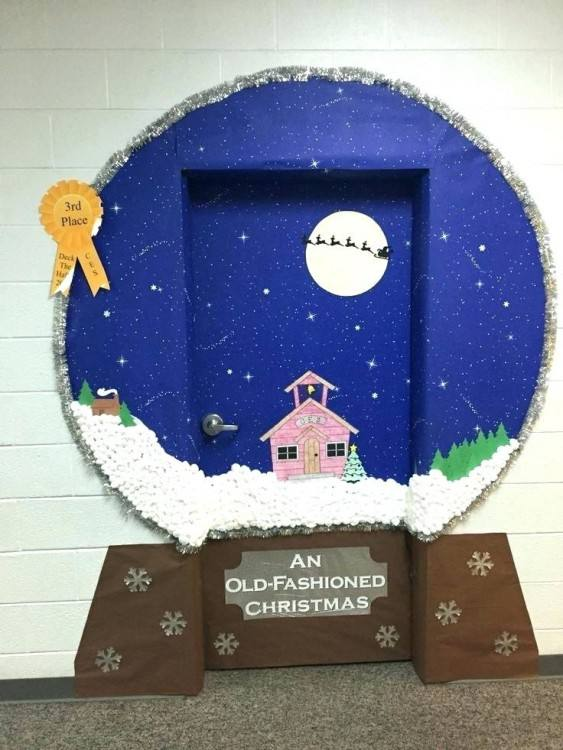 All across the country, schools are kicking off National Reading Month by  decorating their doors with various themes from their favorite children's  stories