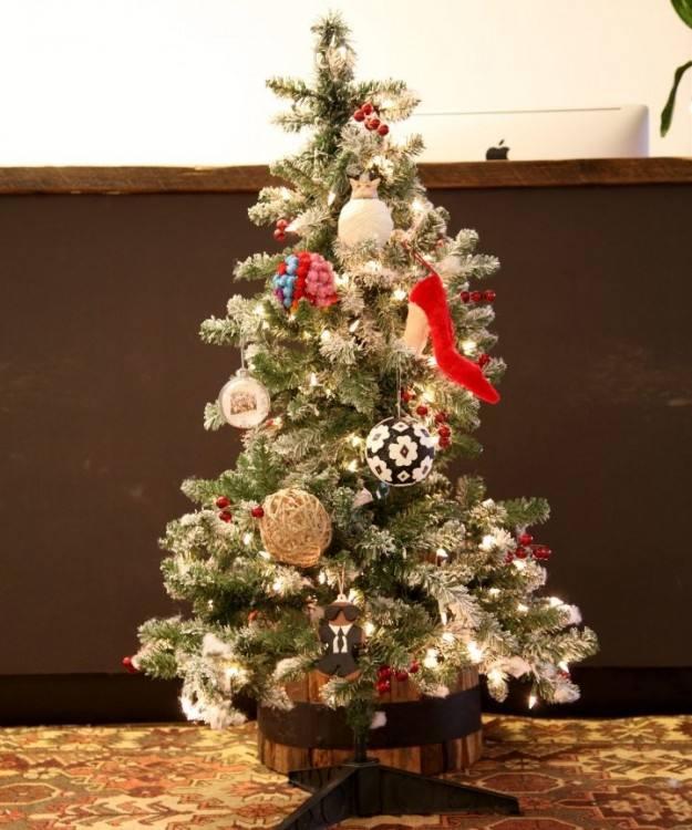 small christmas tree decorating ideas small