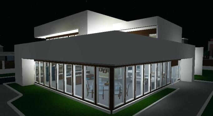 Medium Size of Roblox Bloxburg Modern House Tutorial Cylito Small  Designs South Design Ideas Good Looking