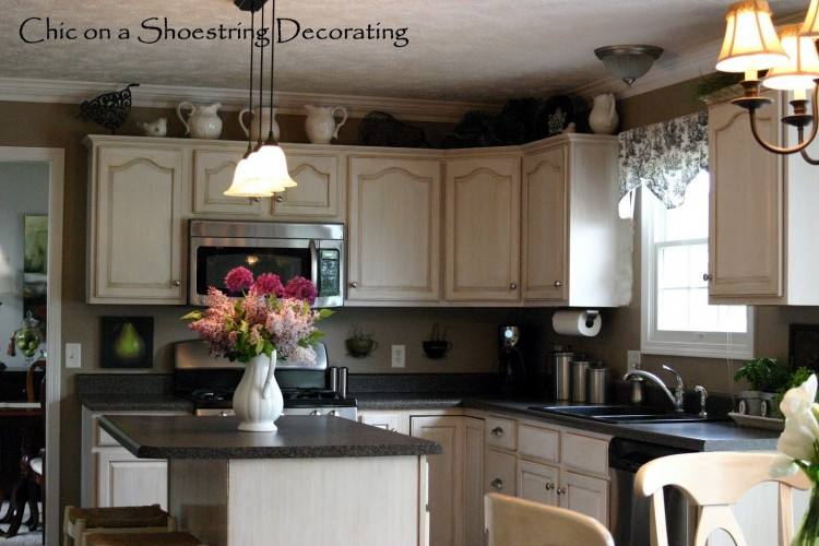 kitchen top cabinets decorating ideas decorating above kitchen