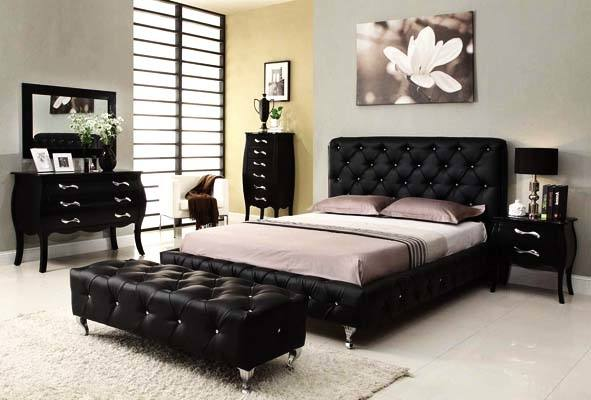 Black Bedroom Furniture Decorating Ideas Gorgeous