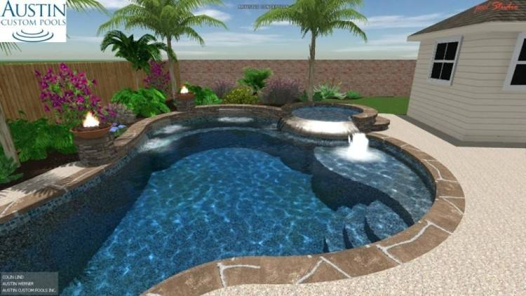 inground pool pictures ideas beautiful house with best design software  studio free download property image19 abreu