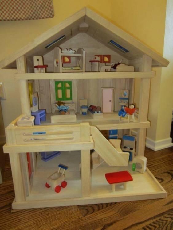 Shop Plan Toys Parents Room Dollhouse Furniture