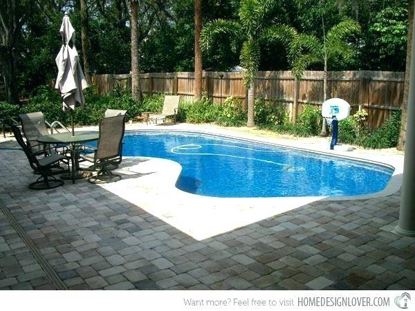 backyard pool designs with lap lane
