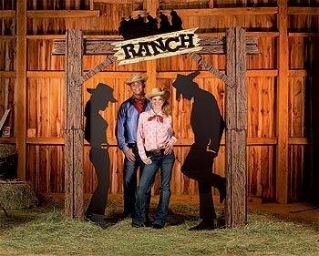 Well a cowboy theme party might be the perfect idea for his birthday party!  So grab some cowboy boots, a cowboy hat, and square dance your way through  a