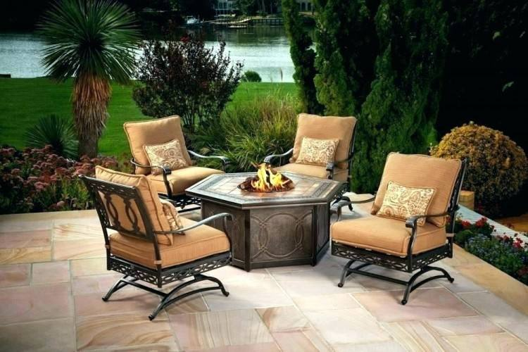 firepit patio sets patio table