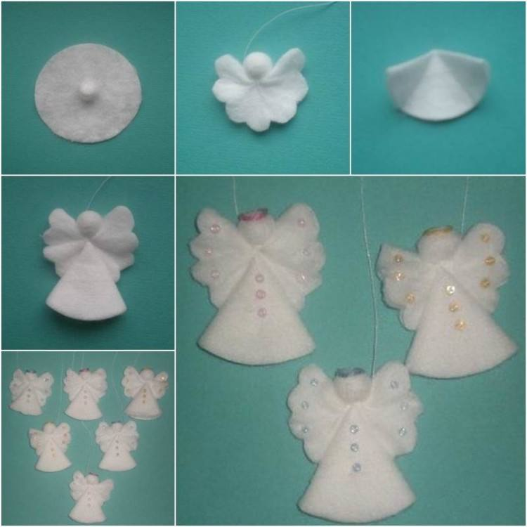 Snowflake, snowman, Christmas decorations, angel, Christmas tree, gift
