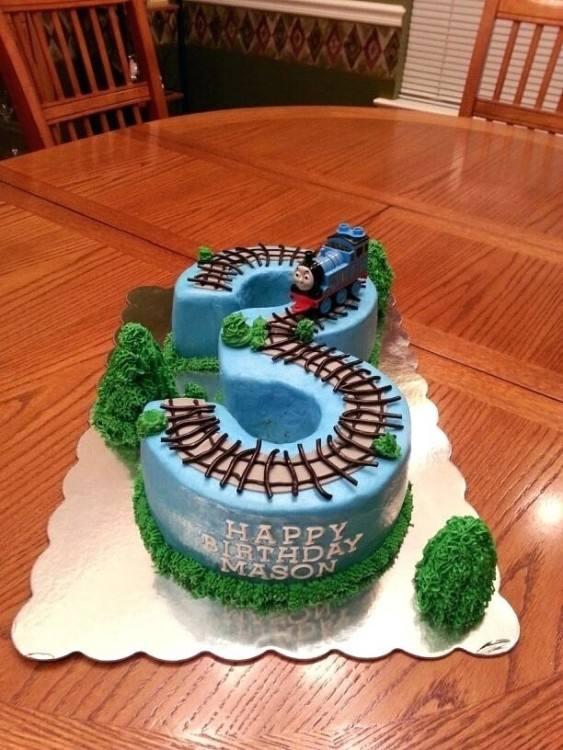 thomas the tank engine cake decorating ideas party train birthday planning