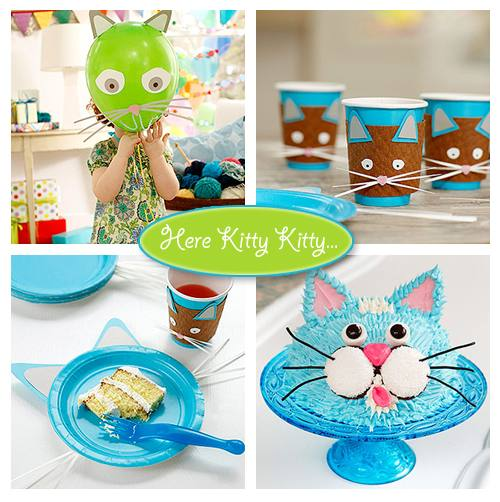 cat party supplies kitten birthday party decorations unique kitty cat party  decoration kit decoration kits party
