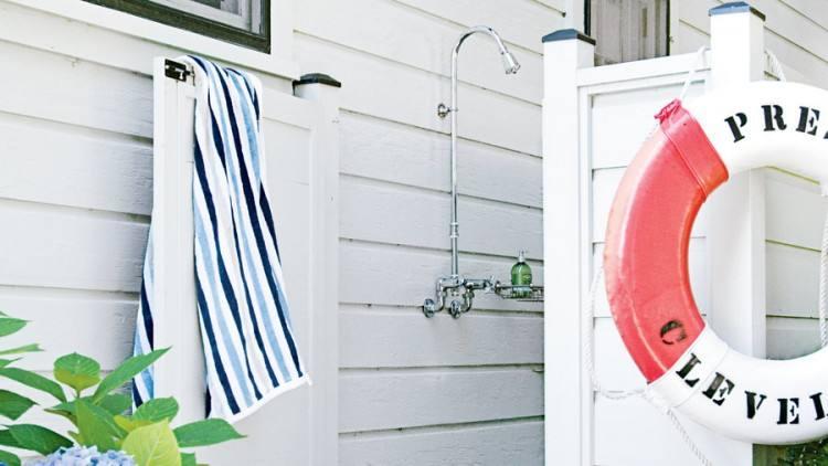 fantastic outdoor shower plans best enclosure ideas