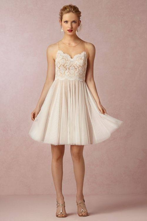 Watters 2595i Tulip Bridesmaid Dress