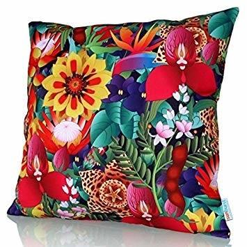 Cojín Decorativo Sunburst Outdoor Living STUDY 50cm x 50cm (Con Borde)  Funda Cojín para Sillón Sofá