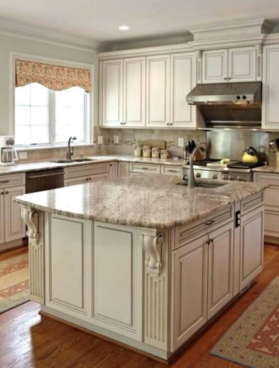 Great Distressed Kitchen Cabinets Ideas Decoration Day Chords