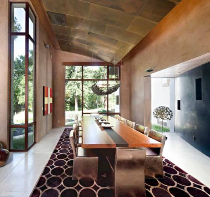 modern table decor amazing modern dining