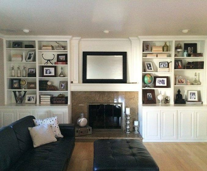 Terrific Built In Bookcase Pictures Built In Bookshelves Decorating  Ideas White Shelves With