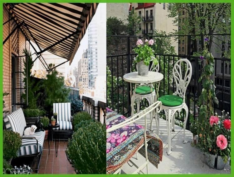 balcony garden decoration ideas small open design