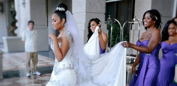 Definitely one of the worst wedding dresses
