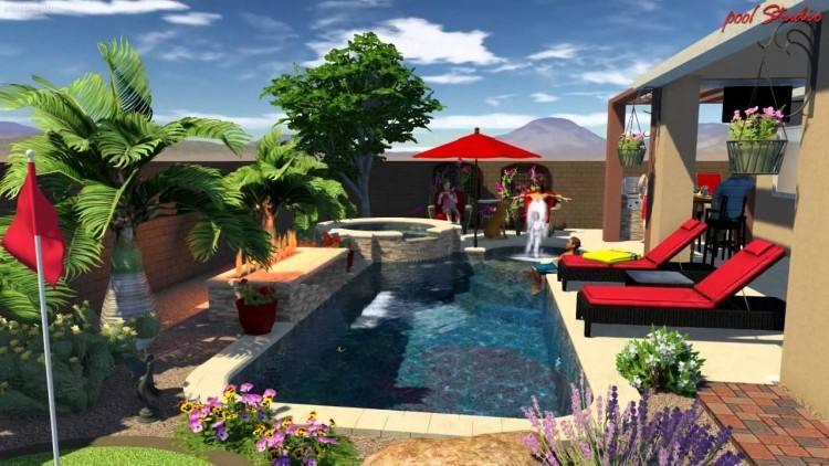 pool landscape designs