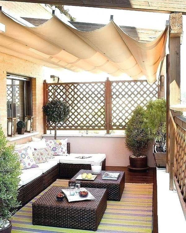 Functionality at its best describes this balcony  garden idea