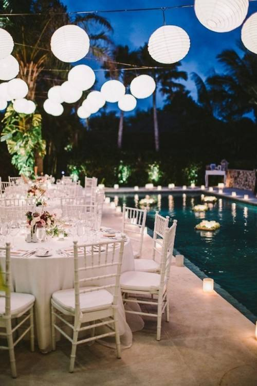How To Decorate Pool For Wedding Decorations Ideas An Above Ground Phenomenal A