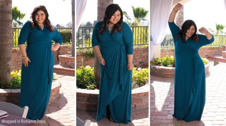 Fashion Trends, V Neck 3 4 Sleeves Long Turquoise Chiffon Plus Size Bridesmaid Dresses: