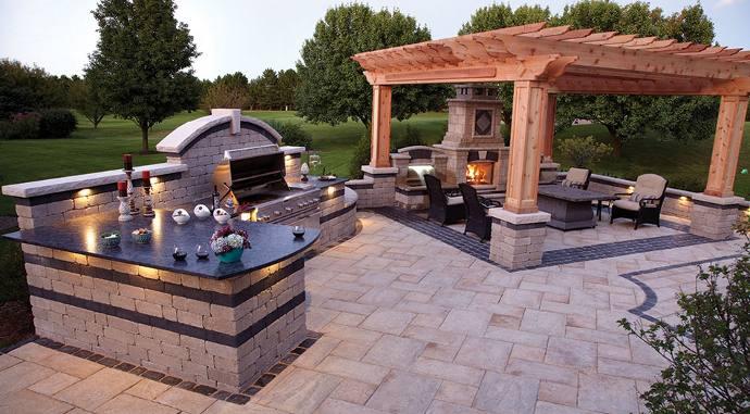 Outdoor living room  by Prestige Pools