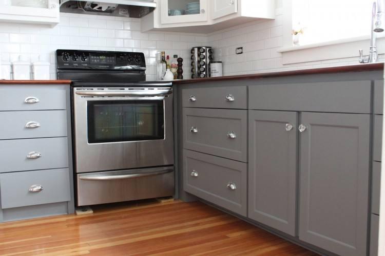 Stylish Painted Gray Kitchen Cabinets Best 25 Painted Gray Cabinets  Ideas On Pinterest Painted