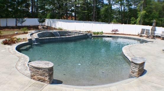 Optional Features Hampton Pools
