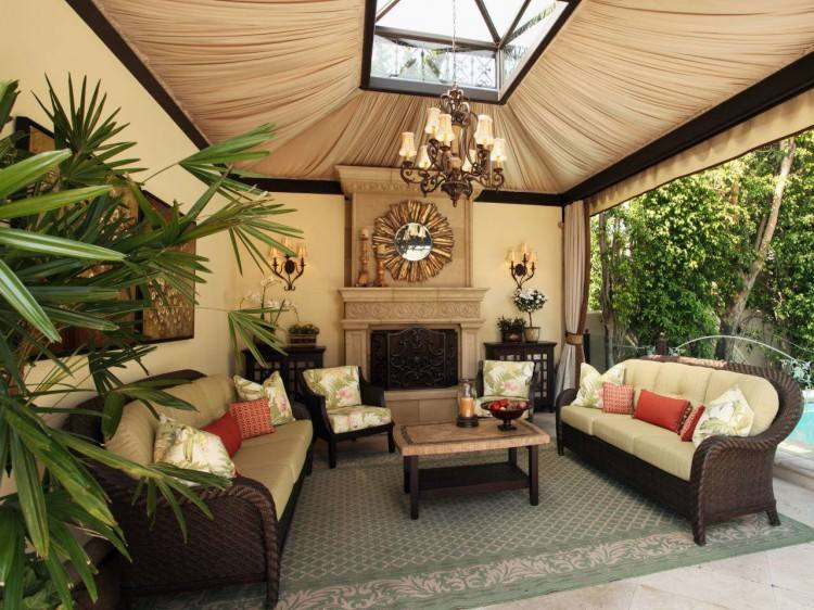 Transform your patio or deck into a fresh and comfortable outdoor living  room with these outdoor decorating ideas from @Stephanie Fisher