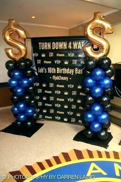 Full Size of 16th Birthday Party Hall Decoration Ideas 1st 50th Top  Innovative With Balloons Decorating