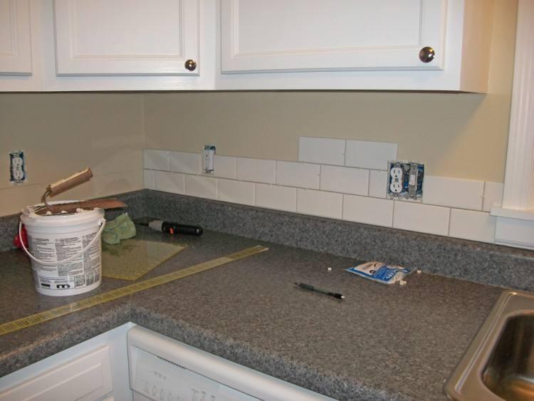 Kitchen Backsplash Subway Tile Home Design