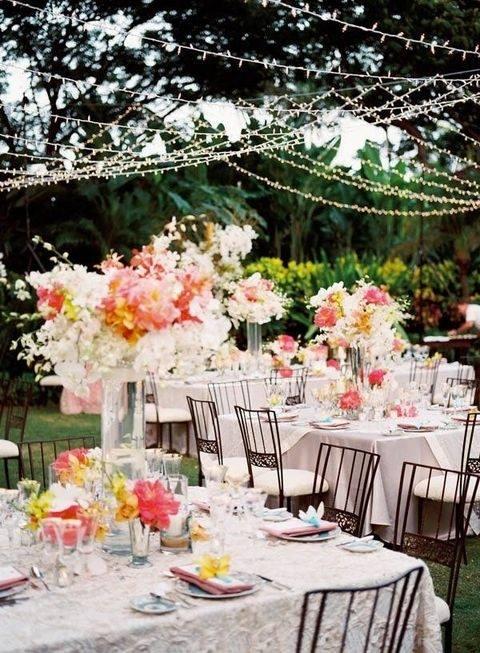 Backyard Wedding Decoration Ideas For Backyard Wedding Decoration