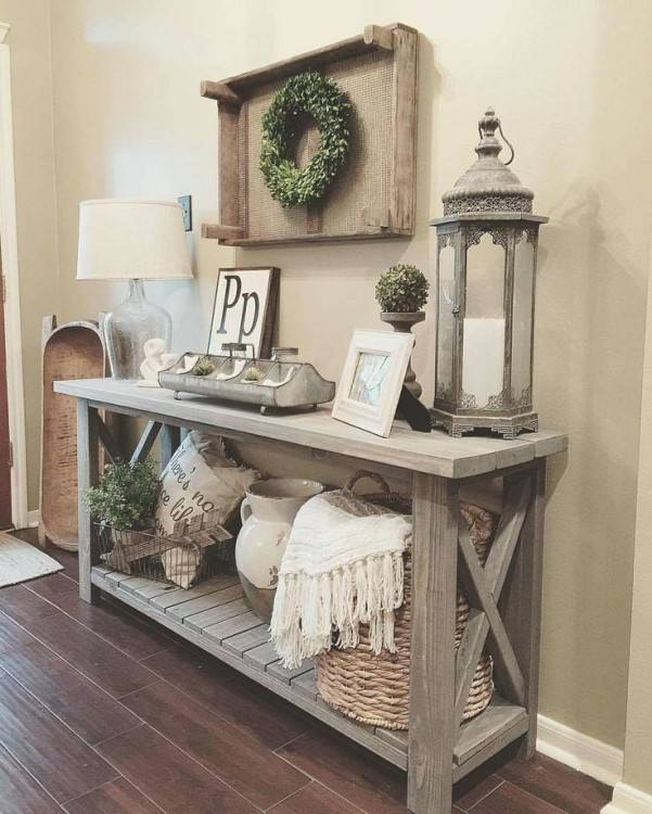 Get the farmhouse look for less with these 50 DIY farmhouse decor ideas so  that you can give your home some farmhouse charm without breaking the bank  or
