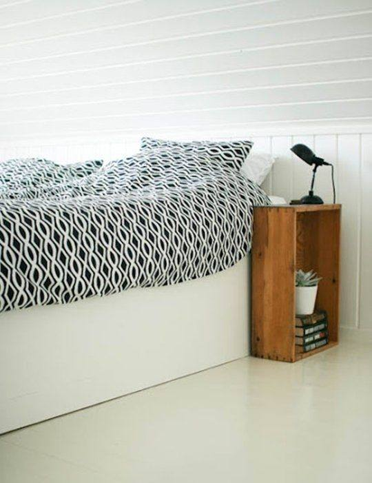 bedside table ideas for small