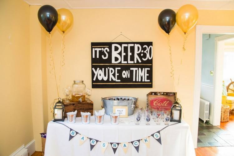 Image of: 30th birthday party ideas at home