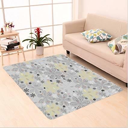 Buy New Indian Carpet Treditiona Rectangular Real Natural Sheepskin Lambskin Area Rug, Carpet Soft Rug Living Room Carpet Bedroom Rug Carpet 5X7 Feet Online
