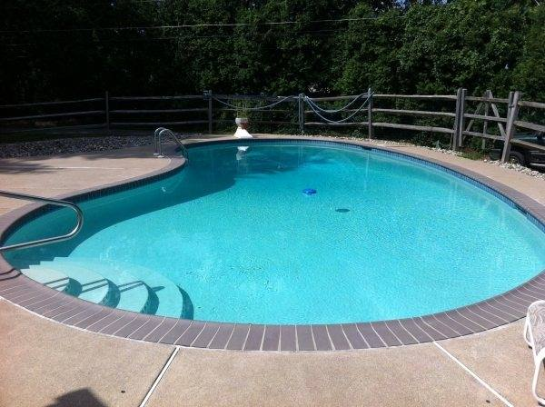 We are totally satisfied and would highly recommend B&B Pools