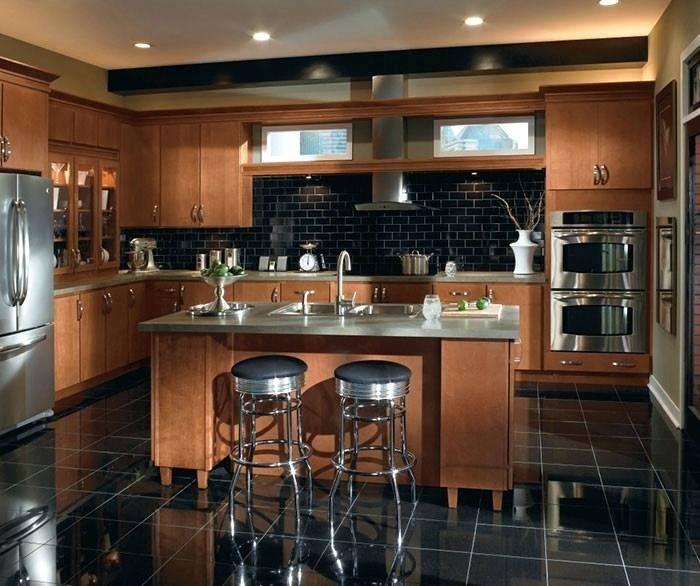 Refinished kitchen island