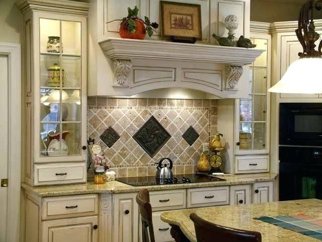 kitchen behind stove only range tiles backsplash stainless steel with shelf