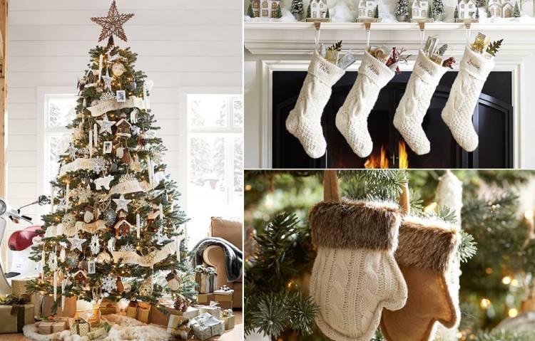 40 Beautiful Vintage Christmas Tree Ideas DigsDigs Trees Rustic Rustic Christmas Decorations