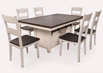 antique dining table and buffet 7 piece set with leaf glass room tables  formal sets round