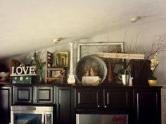 Imposing Ideas Kitchen Cabinet Decorating Inspiring For Above Regarding  Decorations 20