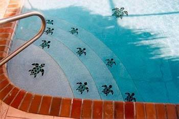 swimming pool tile patterns ceramic mosaics turtle dolphin and unique tiles home page