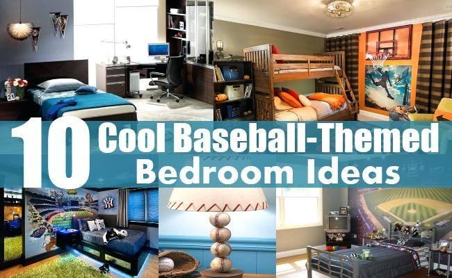 baseball bedroom decor