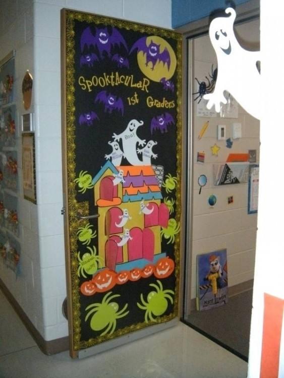 Halloween Door Ideas Halloween Classroom Door Decorating Contest