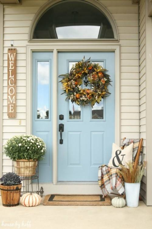 Cute And Cool Front Porch Decor Ideas