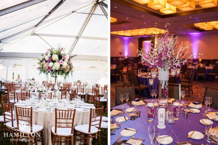 Pink Wedding Decoration Ideas Beautiful Decorations Light Themeh And  Orange Centerpiece
