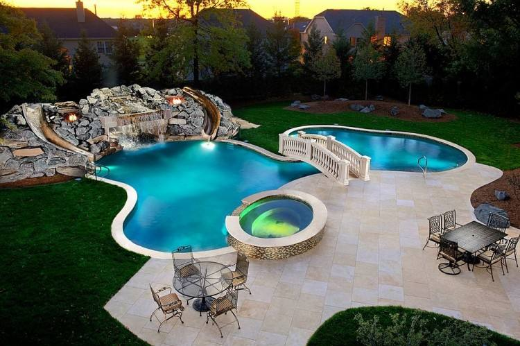 Create your Zen space with a modern pool